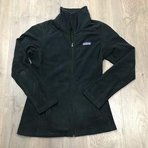 Patagonia Black Full Zip Fleece Jacket XS